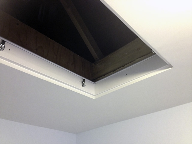 Build Your Own Airtight Attic Access Hatch Pheasant Hill